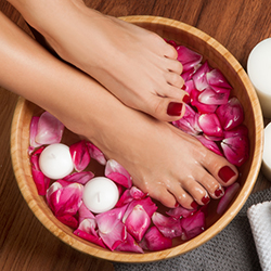 Natural Nails Pedicure
